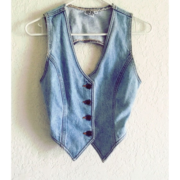 f31fd9ed8b BWB Jackets   Blazers - B.W.B Vintage denim vest